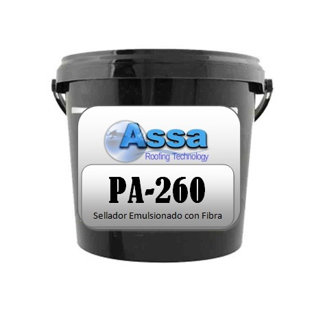 Emulsion asfaltica para sellado de techos