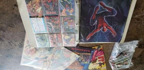 Cartas de spiderman.